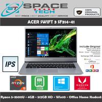 Laptop Acer Swift 3 SF314-41 - Ryzen 5-3500U 4GB 512GB 14FHD IPS Win10
