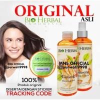 ORIGINAL Sampo Penguat Rambut Rontok Paket Bio Herbal Ginseng BPOM