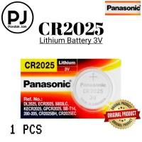 Baterai Panasonic CR2025 Original Lithium Coin Battery 3 Volt - Satuan