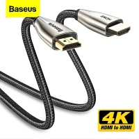 BASEUS HORIZONTAL HDMI TO HDMI ADAPTER CABLE 3M For TV PROJECTOR ETC