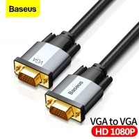 BASEUS ENJOYMENT VGA MALE TO VGA MALE ADAPTER CABLE 2M High Quality