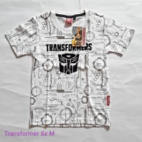 kaos anak lelaki TRANSFORMERS