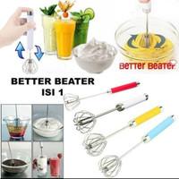 kocokan telur putar/pengocok telur Putar/Better beater/mixer manual