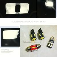 Lampu Plafon Kabin Mobil Rush Terios LED Paket isi 4 Extrime Bright