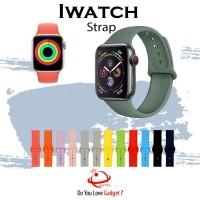 Strap tali apple watch iwatch series 42mm 44mm 38 40mm Rubber