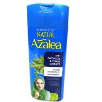 NATUR AZALEA SHAMPO WITH ZAITUN OIL & CITUS EXTRACT 180 ML