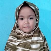 jilbab anak Rabbani motif hijau