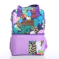 GABAG Cooler Bag Pop Series - LAVENDER - Tas ASI - Free 2 Ice Gel