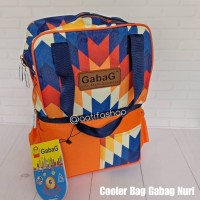 GABAG Cooler Bag Pop Series - Nuri - Tas ASI - Free 2 Ice Gel
