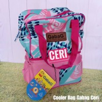 GABAG Cooler Bag Pop Series - Ceri - Tas ASI - Free 2 Ice Gel