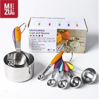 COMPLETA 10in1 SET Measuring Spoons Sendok Takar Ukur Stainless Steel
