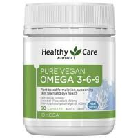 healthy care ultimate omega 3 6 9 omega 369 vegan 60 caps