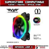 Fan Armaggeddon Nimitz Loop II - Dual Led Light RGB Color FX