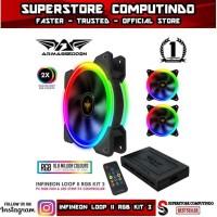 Fan Armaggeddon Nimitz Loop II RGB Kit 3 - LED Light RGB Colour