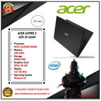 ACER ASPIRE 3 A311-31-C64M C5Z5 - INTEL N4000 4GB 500GB WIN10 11,6HD