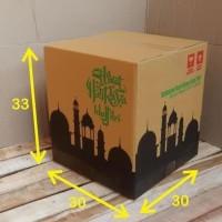 HOT SALE Best Seller Box Bingkisan Kardus Parcel Lebaran 30X30X33Cm -