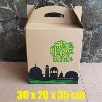 HOT SALE Produk Unggulan Box Bingkisan Kardus Parcel Lebaran uk