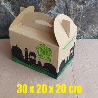 HOT SALE Kardus Box Kotak Bingkisan Parcel Lebaran Idul Fitri Jinjing