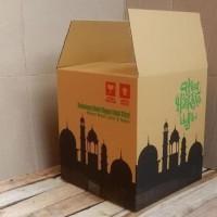 HOT SALE Dijual Box Bingkisan Kardus Parcel Lebaran 30X30X33Cm -