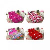 FATA - Bed Cover Hello Kitty Collection Ukuran King 180x200 Queen 160x