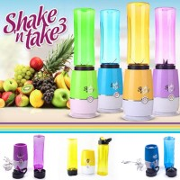 Shake N Take 3 Blender 2 Tabung / Fruit Juicer Blender Portable