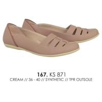 TERMURAH pansus wanita flat shoes cewe sepatu catenzo KS 871