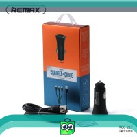 REMAX 2.4A 2USB Kabel Charger 3in1 untuk iPhone / Android