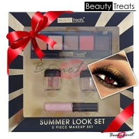 5pc Beauty Treats Summer Look Gold Pro Shimmer Eyeshadow/ Eye Shadow P