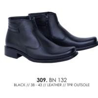 sepatu boot kulit pria sepatu boot kulit PDH ori catenzo BN 132