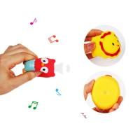 Baby soft bath shower fun giraffe net fishing music educational toys