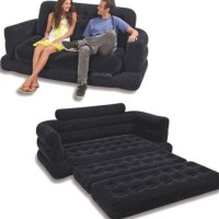 Sofa Lipat Dan Kasur Angin Udara Jadi Satu Intex 68566 Kursi Gosend