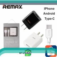 REMAX Adapter Charger USB Type-C dengan Kabel Have Api untuk iPhone
