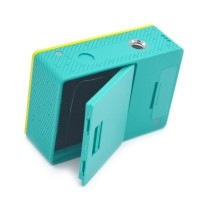Camera Cover Baterai Belakang dengan Cover Port USB untuk Xiaomi Yi