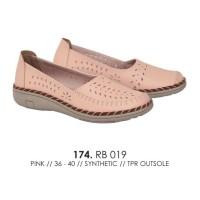 TERMURAH pansus wanita flat shoes cewe sepatu catenzo RB 019