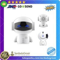 DINGDANG 2 in 1 Speaker Bluetooth + Power Bank Model Robot - M10 Bagus