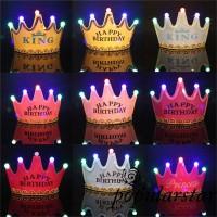 Topi Princess Bayi / Anak Laki-laki / Perempuan Desain Mahkota untuk