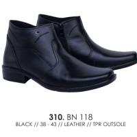 sepatu boot kulit pria sepatu boot kulit PDH ori catenzo BN 118