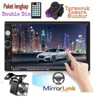 Head unit MirrorLink double din Mobil Universal Bluetooth Touch Screen