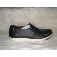 sepatu santai pria kulit hitam sandro berkualitas |pspgn.co