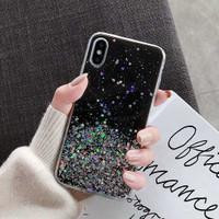 Casing Samsung A71 Star Glitter Color Soft Case