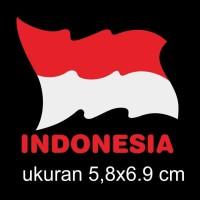 cutting sticker motor mobil bendera Indonesia 02
