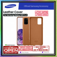 Samsung Galaxy S20 Ultra / S20 Plus Case ORIGINAL Leather Cover - Brown, S20 Plus