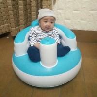 Kursi Sofa Angin Kursi Bayi tiup Makan Mandi Bayi Kursi Kids