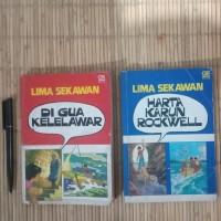 2 Novel Lawas Enid Blyton 'Lima Sekawan' th 80an