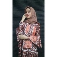 Nara Dress Gamis syari murah baju muslim wanita