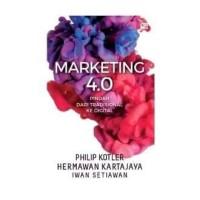 Buku Marketing 4.0-Bergerak dari Tradisional ke Digital   Hermawan K