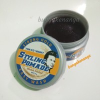 Pomade Tokyo Night Styling Easy Wash 75 g Strong hold
