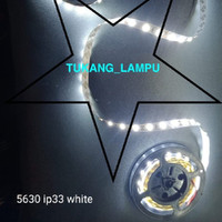 LAMPU LED STRIP 5630 IP33 PUTIH WARM WHITE - Putih