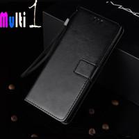 Leather Case Wallet XIAOMI MI 5X Mi 5 XFlip Cover - Hitam