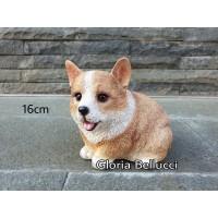patung pajangan anjing welsh corgi pembroke miniatur doggy